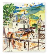 El Rocio 02 Fleece Blanket