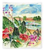 El Rocio 06 Fleece Blanket