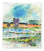 El Rocio 08 Fleece Blanket