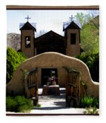 El Santuario De Chimayo Fleece Blanket