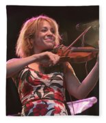 Elana James And The Continental Two Fleece Blanket