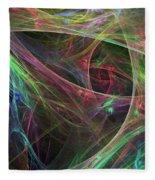 Elasticity-02 Fleece Blanket
