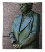 Eleanor Roosevelt Memorial Detail Fleece Blanket