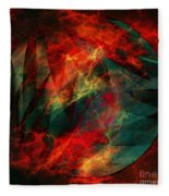 Electric Dreams Of The Ancients Fleece Blanket
