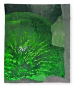 Electric Green Fleece Blanket