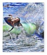 Electric Splash Fleece Blanket
