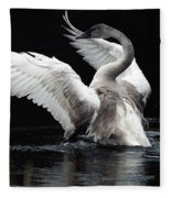 Elegance In Motion 2 Fleece Blanket