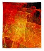 Elegance Of The Sun Fleece Blanket