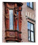 Elegant Window In Bergen Fleece Blanket