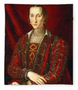 Eleonora Di Toledo Fleece Blanket