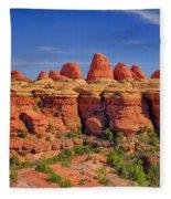 Elephant Canyon Panorama Fleece Blanket