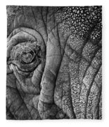 Elephant Eye Fleece Blanket