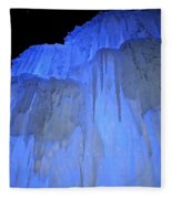 Elevated Blue Fleece Blanket