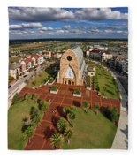Elevated View Of Ave Maria Oratory Fleece Blanket
