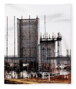 Elevator Going Up Fleece Blanket