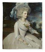 Elizabeth Countess Of Warwick Fleece Blanket