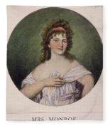 Elizabeth Monroe (1768-1830) Fleece Blanket