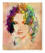 Elizabeth Taylor Fleece Blanket