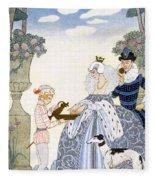 Elizabethan England Fleece Blanket