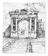 Elizabeth's Gate Fleece Blanket