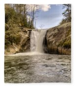 Elk Creek Falls 31 Fleece Blanket