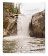 Elk Creek Falls 34 Fleece Blanket