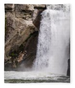 Elk Creek Falls 35 Fleece Blanket