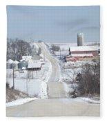 Elkader Farm Fleece Blanket