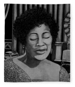 Ella Fitzgerald Fleece Blanket