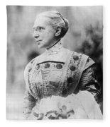 Ella Flagg Young (1845-1918) Fleece Blanket