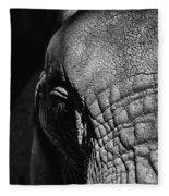 Ellie Up Close Fleece Blanket