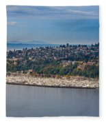 Elliott Bay Marina Fleece Blanket