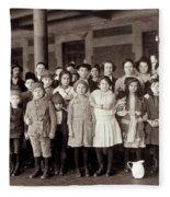 Ellis Island, C1908 Fleece Blanket