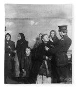 Ellis Island: Inspection Fleece Blanket