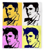 Elvis Pop X Four Fleece Blanket