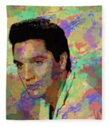Elvis Presley - 5 Fleece Blanket