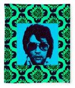 Elvis Presley Window P128 Fleece Blanket