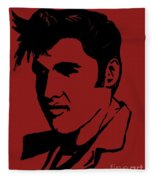 Elvis The King Fleece Blanket