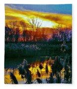 Emagin Sunset Fleece Blanket