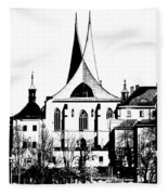 Emauzy - Benedictine Monastery Fleece Blanket