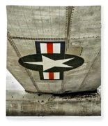 Emblem Underneath Fleece Blanket