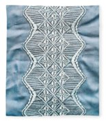 Embroidery Fleece Blanket