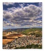 Emek Israel Fleece Blanket