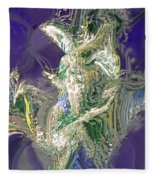 Emerald Elemental Fleece Blanket