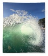 Emerald Flare Fleece Blanket