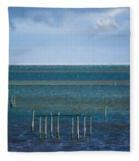 Emerald Seas Fleece Blanket