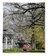 Emerging Of Spring Fleece Blanket