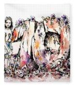 Emilee's World Fleece Blanket