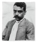 Emiliano Zapata (1879-1919) Fleece Blanket