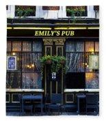 Emily's Pub Fleece Blanket